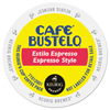Cafe Bustelo Cafe Bustelo Espresso Style K-Cups GMT 6106