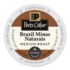 Peet's Coffee  Tea Brazil Minas Naturais Coffee K-Cups