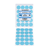 GermSafe24 Antimicrobial Protective Film - Translucent Medical Blue Elevator Buttons - 80 Pack GMZ MBAFB-180-180