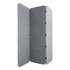 Lumeah Lumeah Concertina Foldable Sound Reducing Room Divider Privacy Screen GN1 LUCO72701G