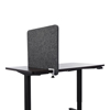 Lumeah Lumeah Desk Divider Privacy Panel Sound Reducing Office Partition for Desk Cubical GN1LUDD24221A