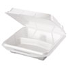 Genpak Foam Hinged Carryout Containers GNP 20310