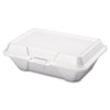 Genpak Foam Hinged Carryout Containers GNP 20500