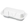 Genpak Foam Hinged Carryout Containers GNP 21100