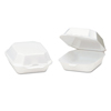 Genpak Foam Hinged Carryout Containers GNP 22400