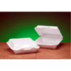 Genpak Foam Hinged Carryout Containers GNP 25000