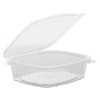 Genpak Plastic Hinged-Lid Deli Containers GNP AD08F