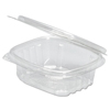 plastic containers: Genpak® Plastic Hinged-Lid Deli Containers