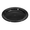 Genpak Silhouette Black Plastic Dinnerware GNP BLK06