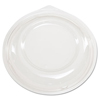 Genpak Dome Lids for Silhouette® Plastic Dinnerware Bowls GNP BWS964