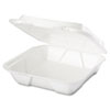Genpak Foam Hinged Carryout Containers GNPSN200