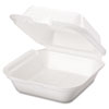 Genpak Foam Hinged Carryout Containers GNP SN227