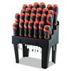 Great Neck Great Neck® Screwdriver Set and Storage Rack GNS60179