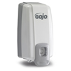 soaps and hand sanitizers: GOJO® NXT® SPACE SAVER™ Dispenser - Dove Gray
