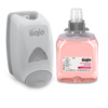 soaps and hand sanitizers: GOJO® FMX-12™ Dispenser