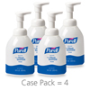 soaps and hand sanitizers: PURELL® Advanced Instant Hand Sanitizer Foam