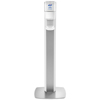 hand sanitizers: PURELL® MESSENGER™ ES6 Silver Panel Floor Stand with Dispenser