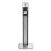 GOJO PURELL® MESSENGER™ ES6 Graphite Panel Floor Stand with Dispenser GOJ 7316DSSLV