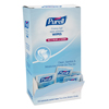 soaps and hand sanitizers: PURELL® Cottony Soft Individually Wrapped Sanitizing Hand Wipes