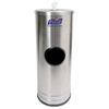 hand sanitizers: PURELL® Hand Sanitizing Wipes Stainless Steel Stand Dispenser
