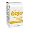 soaps and hand sanitizers: GOJO® 800-ml Bag-in-Box Refills