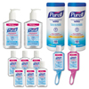 instant gel hand sanitizer: PURELL® Office Hand Sanitizer Starter Kit