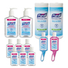 instant gel sanitizers: PURELL® Office Hand Sanitizer Starter Kit