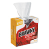 cleaning chemicals, brushes, hand wipers, sponges, squeegees: Brawny Industrial® Heavy Duty Shop Towels