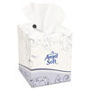 Angel Soft ps® Premium Facial Tissues, Cube Box