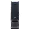 "Tower Napkin Dispenser, 25.31"" x 10.68"", Black"