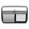 Georgia Pacific Georgia Pacific® Professional Compact® Coreless Side-by-Side Double Roll Tissue Dispenser GPC 56796A