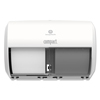 Georgia Pacific Georgia Pacific® Professional Compact® Coreless Side-by-Side Double Roll Tissue Dispenser GPC 56797A