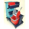 Geerpres Ideabase Modular Plastic Cart - 101 Base Unit With Bucket And Wringer Combo GPS 101C