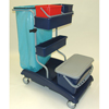 Janitorial Carts, Trucks, and Utility Carts: Geerpres - Ideabase Modular Plastic Cart