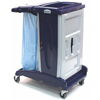 Janitorial Carts, Trucks, and Utility Carts: Geerpres - Modular Plastic Housekeeping Cart - 201 Base Unit