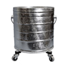 Mops & Buckets: Geerpres - Galvanized Steel Mop Bucket