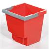 Geerpres Mop Bucket, Red - 15 Liter GPS 21005R