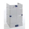 Janitorial Carts, Trucks, and Utility Carts: Geerpres - Trash Doors For Modular Plastic Housekeeping Carts
