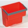 Geerpres Top Bucket, Red - 4 Liter For Modular Plastic Housekeeping Carts GPS 23020R