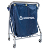 Janitorial Carts, Trucks, and Utility Carts: Geerpres - The Collector with Heavy Load Bottom Shelf