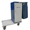Janitorial Carts, Trucks, and Utility Carts: Geerpres - Escort® Powder Coated Housekeeping Cart