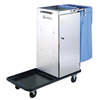 Janitorial Carts, Trucks, and Utility Carts: Geerpres - Escort® Stainless Steel Housekeeping Cart