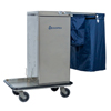Janitorial Carts, Trucks, and Utility Carts: Geerpres - Genesis™ Stainless Steel Microfiber Cart
