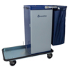 Janitorial Carts, Trucks, and Utility Carts: Geerpres - Genesis™ Powder Coated Housekeeping Cart