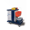Janitorial Carts, Trucks, and Utility Carts: Geerpres - Modular Plastic Housekeeping Cart