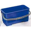 Janitorial Carts, Trucks, and Utility Carts: Geerpres - Flat Mop Bucket, Blue - 22 Liter