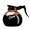 Wilbur Curtis Glass Decanter, Brown Handle WCS70280100203