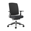 ergonomic: Lota Mesh Mid-Back Task Chair with Weight Activated Tilt & Polished Finish
