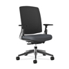 HON Lota Mesh Mid-Back Task Chair with Weight Activated Tilt & Polished Finish HON2283VA19PA