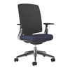 HON Lota Mesh Mid-Back Task Chair with Weight Activated Tilt & Polished Finish HON2283VA90PA